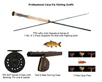 TFO Professional Carp Fly Fishing Outfit (7 Wt. 2 Piece)
